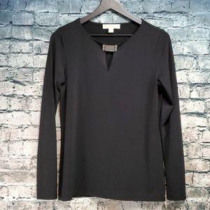 Michael Kors   Black Career Wear Blouse